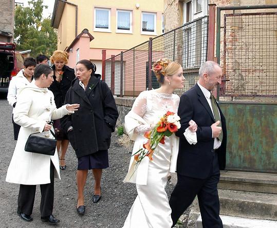 S Markétou Plánkovou se potkal už v Rodinných poutech.