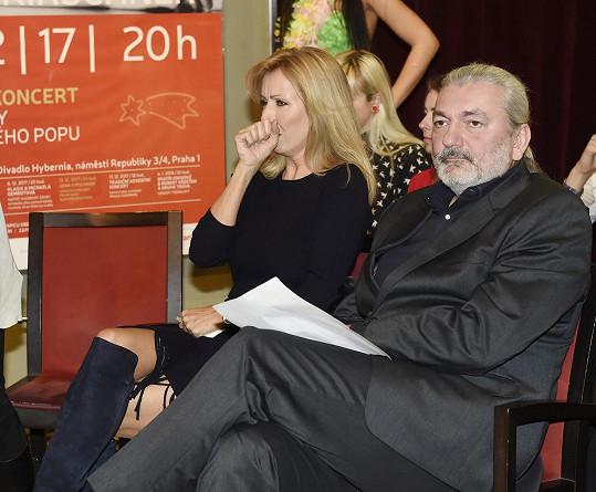 Jevištní partnerkou mu bude Kateřina Brožová.