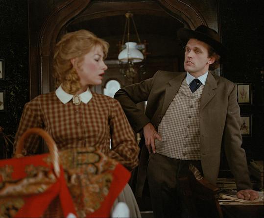 Se svou německou kolegyní Katjou Rupé hráli manžele Berwitzovy.