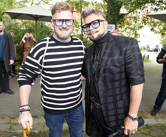 S přítelem Guyem