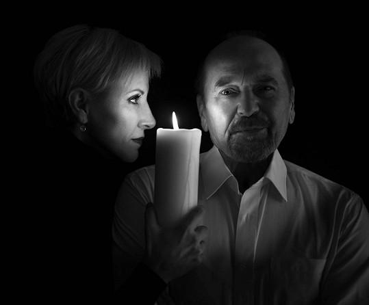 Zpěvačka Renata Drössler a básník Jiří Žáček připravují společnou desku.
