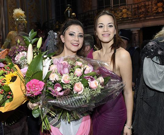 Karolina v muzikálu alternuje roli Markétky s Ivanou Korolovou.