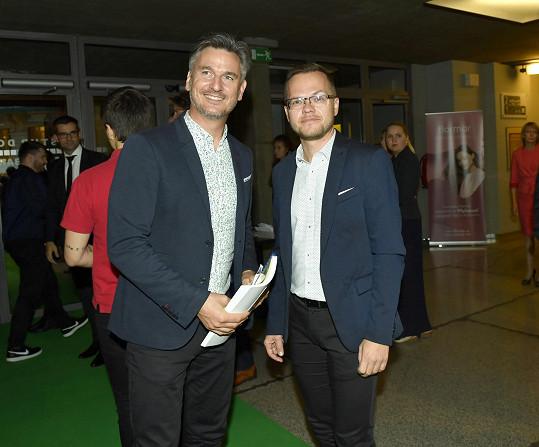 Lumír Olšovský s partnerem Pavlem Bárem