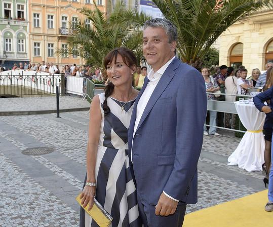 Beata Rajská s manželem