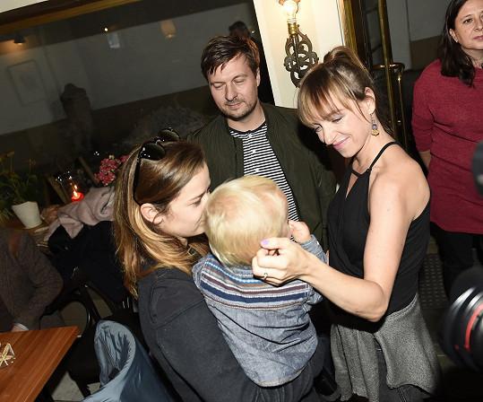 S Benediktem si rozuměla i Tatiana Vilhelmová.