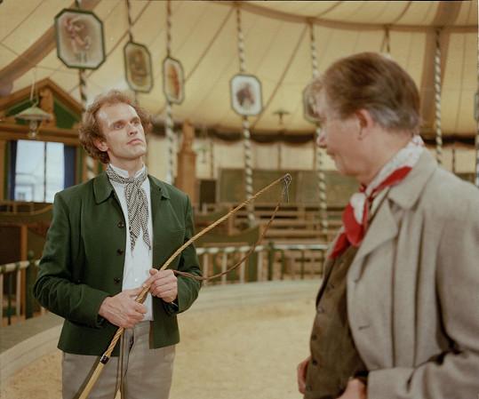 Cirkusák Petr Berwitz byl jednou z hlavních rolí...