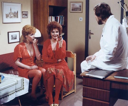 Ohnivé ženy se vracejí (1986) s Janou Hlaváčovou