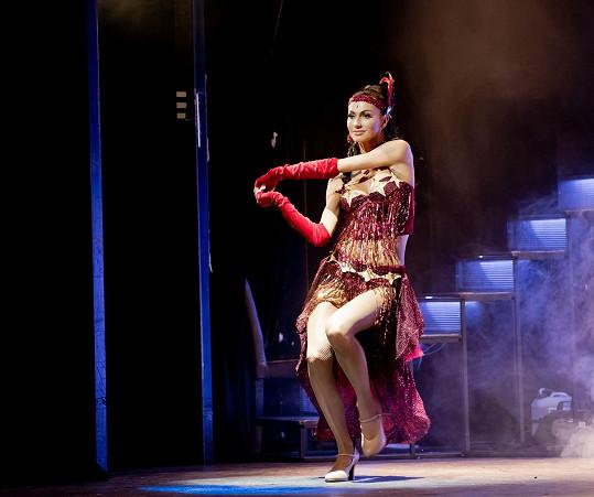 Na prknech Divadla Broadway se opět objevuje v muzikálu.