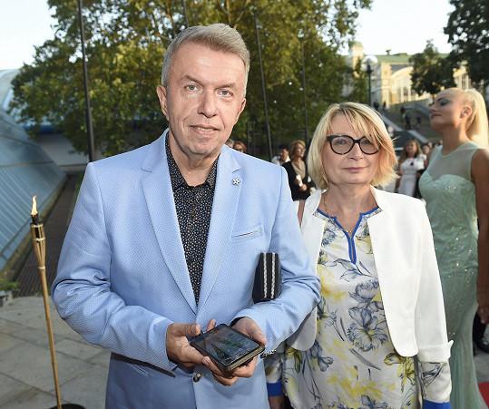 Houslista Jaroslav Svěcený s doprovodem