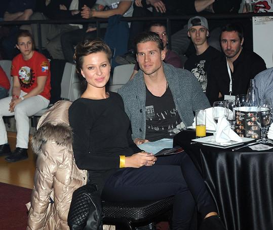 Inna se svým současným přítelem, fotbalistou Petrem Tlustým