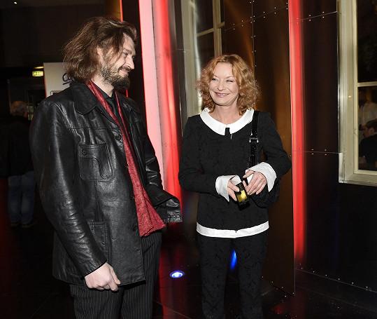 S novým přítelem na premiéře fimu Pohádky pro Emu