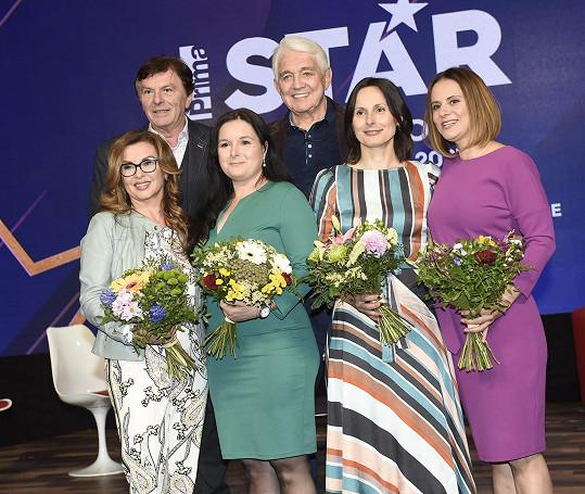 Hvězdy oblíbených pořadů, které bude Prima reprízovat.