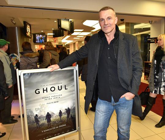 Martin Maxa na premiéře filmu Ghoul
