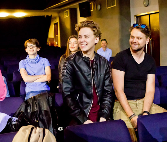 Josef s Vojtou Drahokoupilem přišli na casting nového muzikálu.