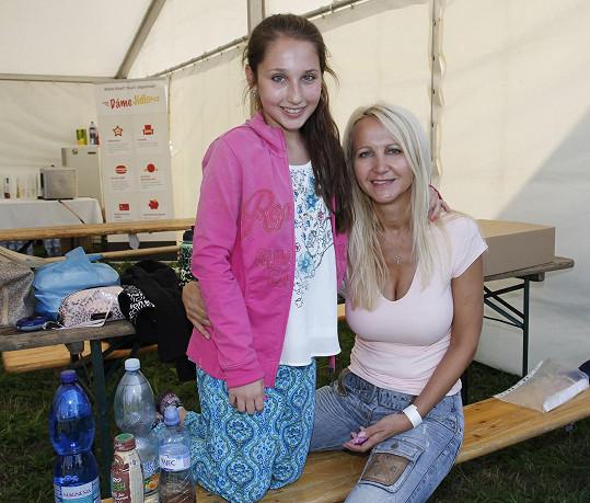 Šárka s dcerou Natálkou