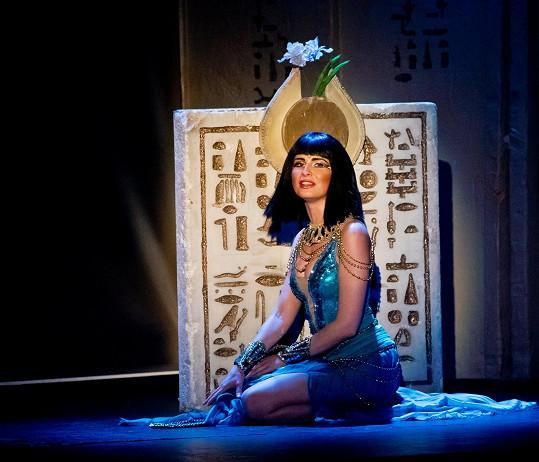 Betka Bartošová jako legendární egyptská královna.
