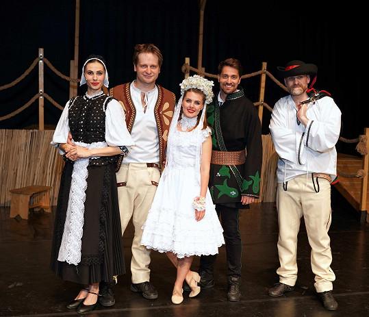 Muzikál KUBO měl teď českou premiéru v Divadle Hybernia.