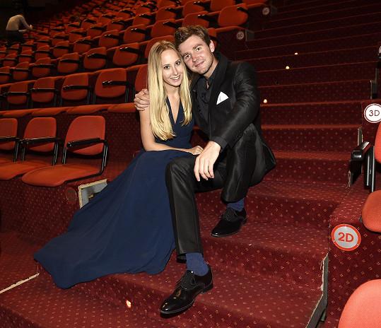 Denisa Grossová s přítelem Robinem plánují svatbu.
