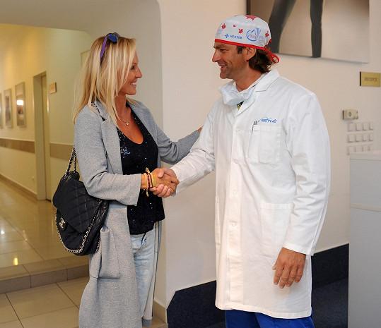 Zuzana ani na chvíli neuvažovala o tom, že by absolvovala operaci v Americe.