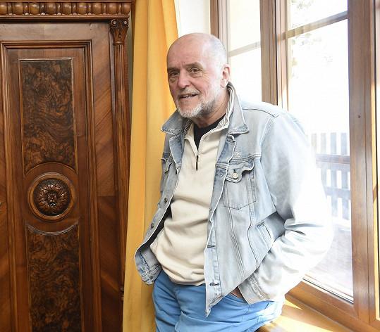 Jan Vančura prožil v domě spoustu šťastných let.