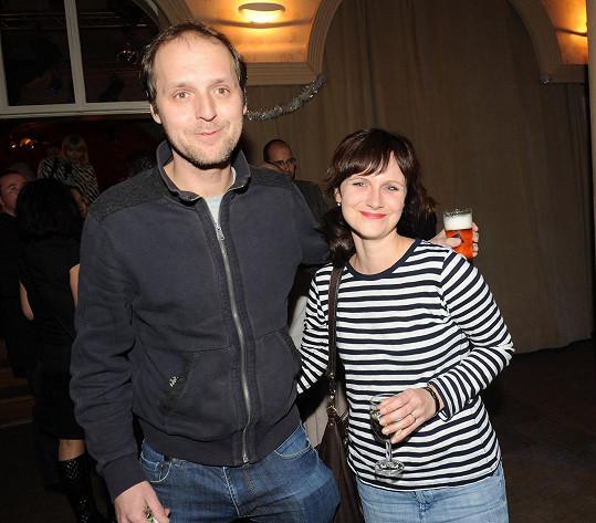 Kristýnu a jejího muže spojila práce, jak už to tak u umělců bývá.