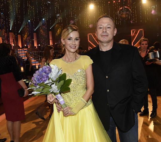 Lucie s manželem Michalem Dvořákem