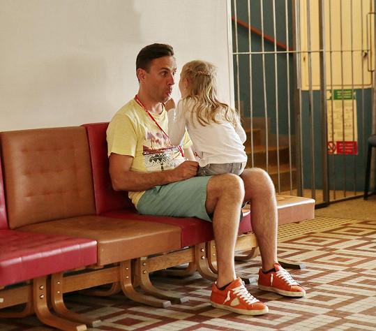 Roman Vojtek tráví s dcerou Editkou většinu volného času.