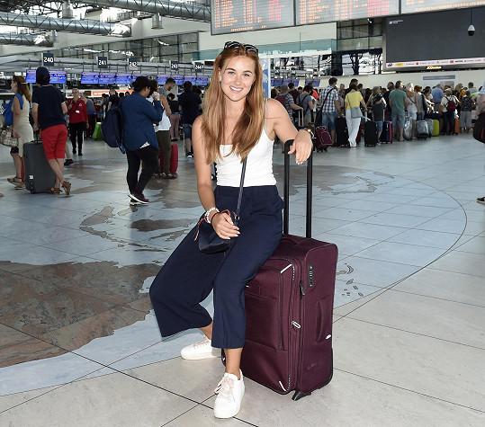 Jana Šišková odletěla o víkendu do Portugalska.