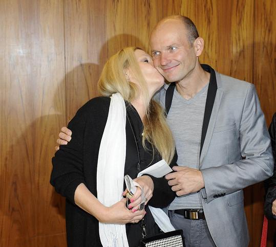 Na představení se potkal s Olgou Želenskou.