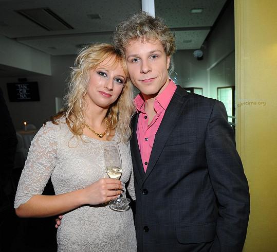Jan Onder s přítelkyní Luckou.