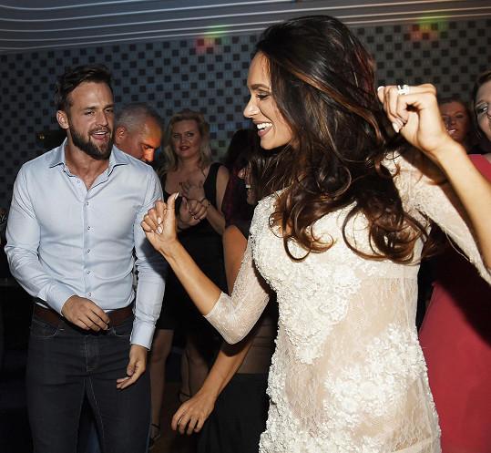Tančila například s loňským Mužem roku Jakubem Krausem.