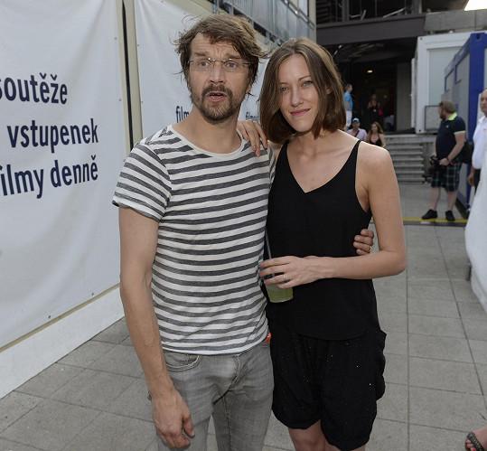 Dan s manželkou Alžbětou