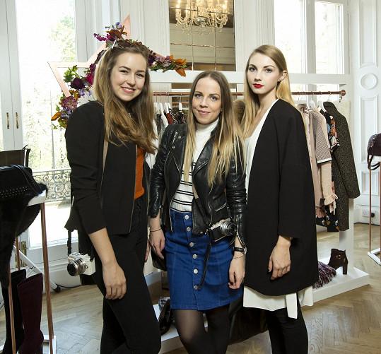 Blogerky na prezentaci podzimní a zimní kolekce britské značky v Londýně