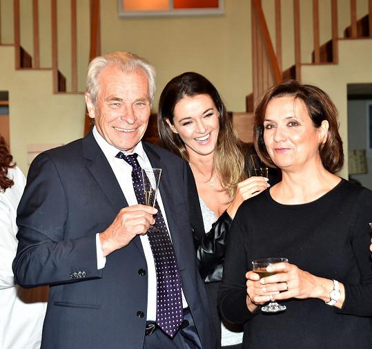 Iva s kolegy Aloisem Švehlíkem a Veronikou Freimanovou