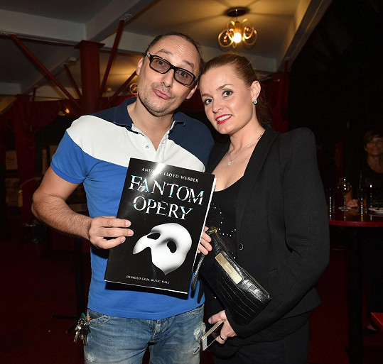 Marian s Alicí Janečkovou na druhé premiéře