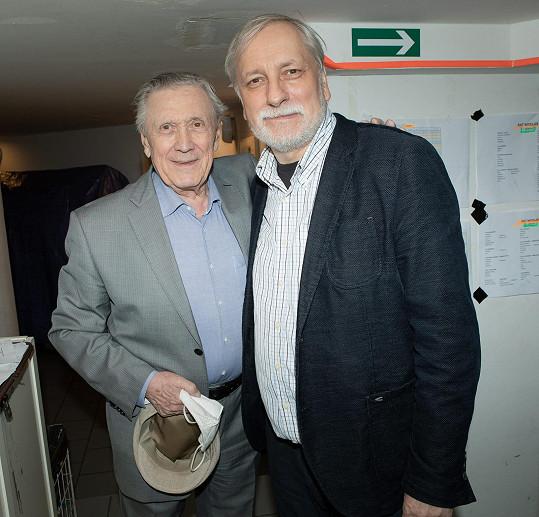 Petr Kostka s režisérem Zdeňkem Zelenkou
