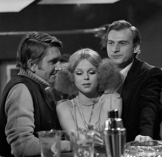 Lenka v televizní inscenaci Ztrácím tě, lásko (1978)