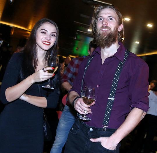 Mezi hosty byli Ondřej Bábor s přítelkyní