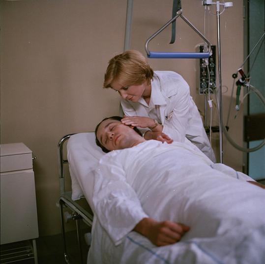 V seriálu si zahrála s Viktorem Preissem.