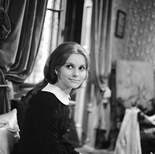 Vančurová v roce 1972 (Jana Eyrová)