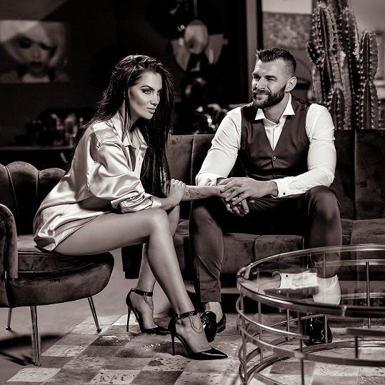 Andrea Pomeje s partnerem Petrem