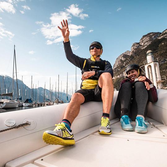 V pořadu České televize se Tomáš Kraus a Eva Samková pokusili ukázat profláknutá místa v Alpách z jiného pohledu.