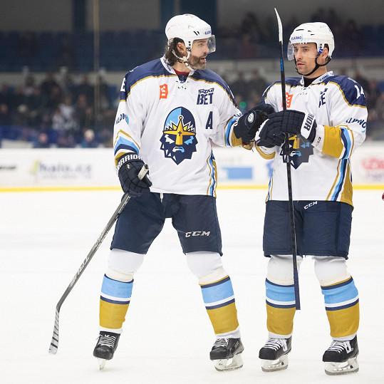 Jaromír Jágr a Tomáš Plekanec pomohli Kladnu zpátky do extraligy.