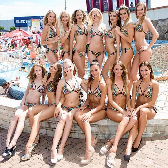 Dvanáct krásek se toužilo probojovat do finále.