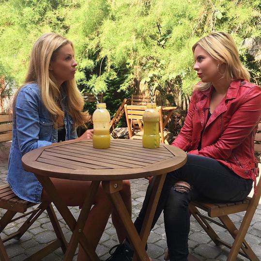 Při rozhovoru pro TopStar magazín s Kateřinou Kristelovou