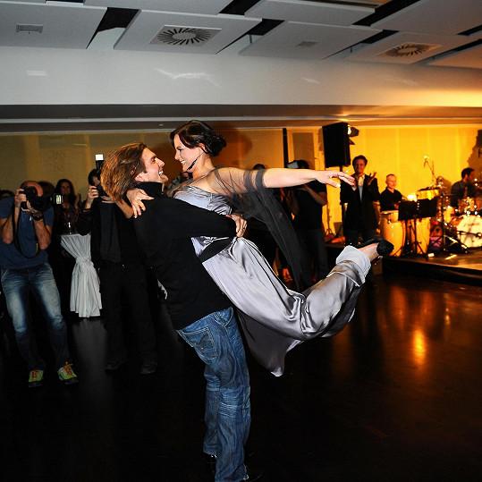 Je evidentní, že Jitka tanec miluje.