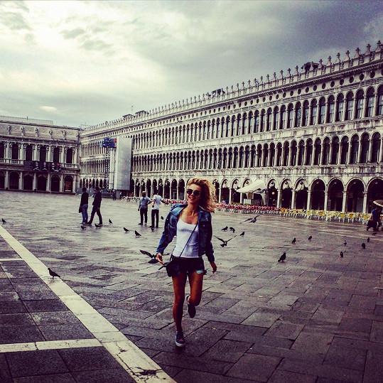 O letních prázdninách vyrazila Tereza Jelínková do Benátek.