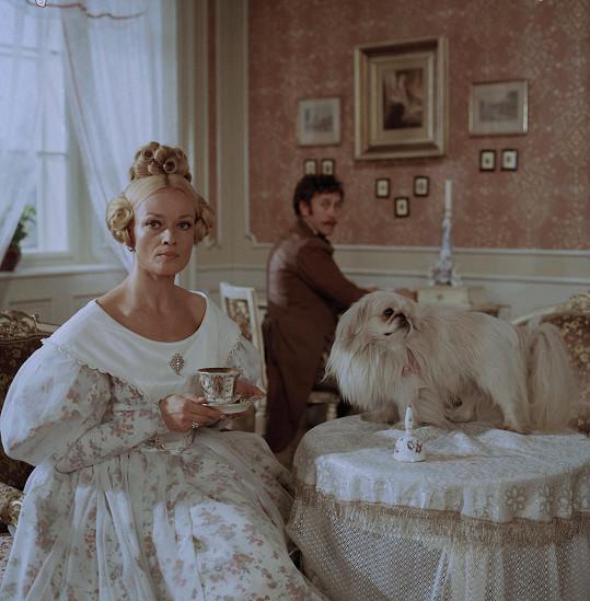 I po čtyřicítce to byla výjimečně krásná žena.