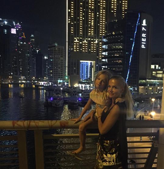 Na další dovolené v jednom z Emirátů