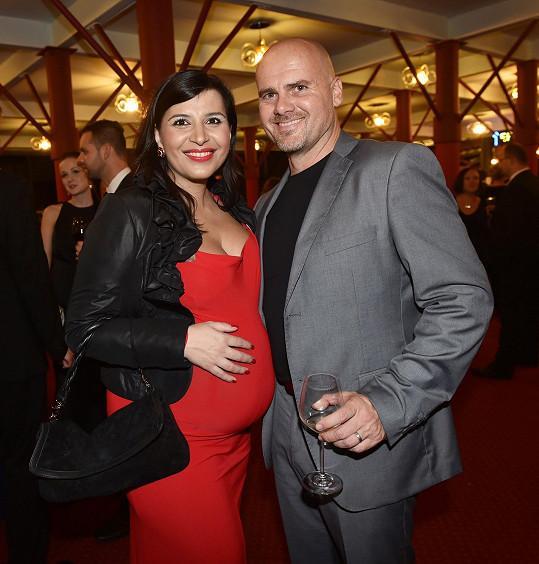 Andrea s manželem Radkem